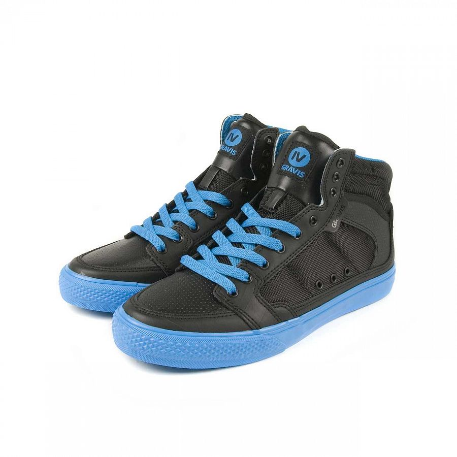 купить Кеды Gravis Lowdown HC LE MNS Black IV Blue в Москве
