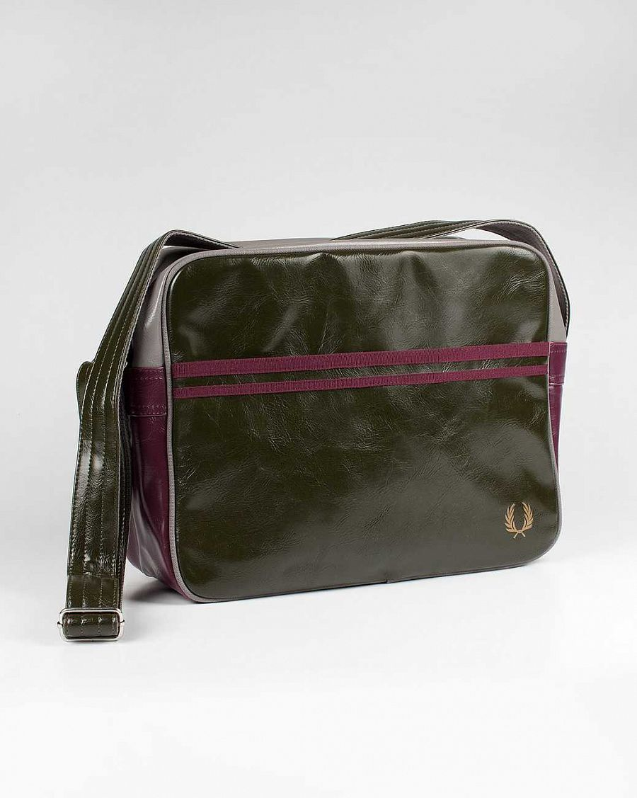 Сумка Fred Perry L1180 Classic Shoulder Bag Hunting green отзывы