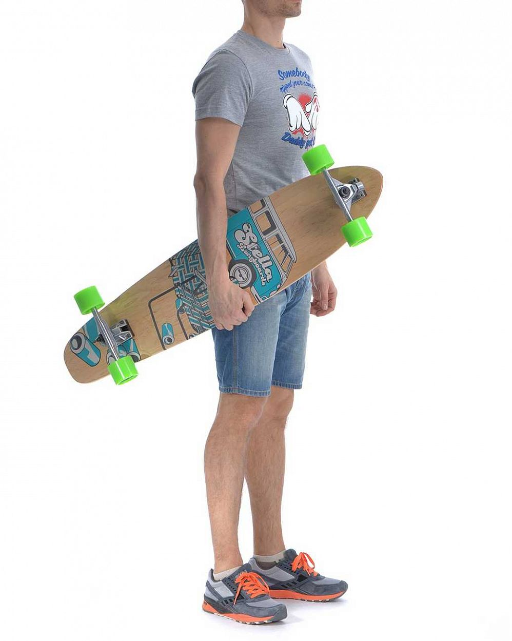 Лонгборд Stella Longboards KICKTAIL SLOW DAYZ BLUE в розницу