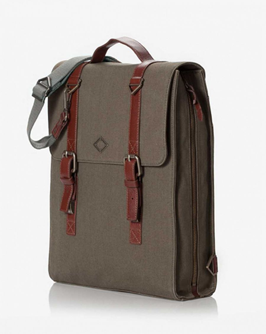 купить Рюкзак Brownbreath Backpack Artisan 3way MG - Khaki в Москве