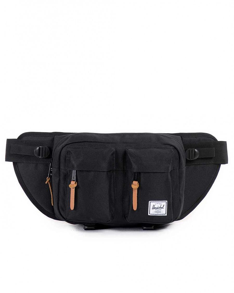 Сумка поясная Herschel Eighteen Black отзывы