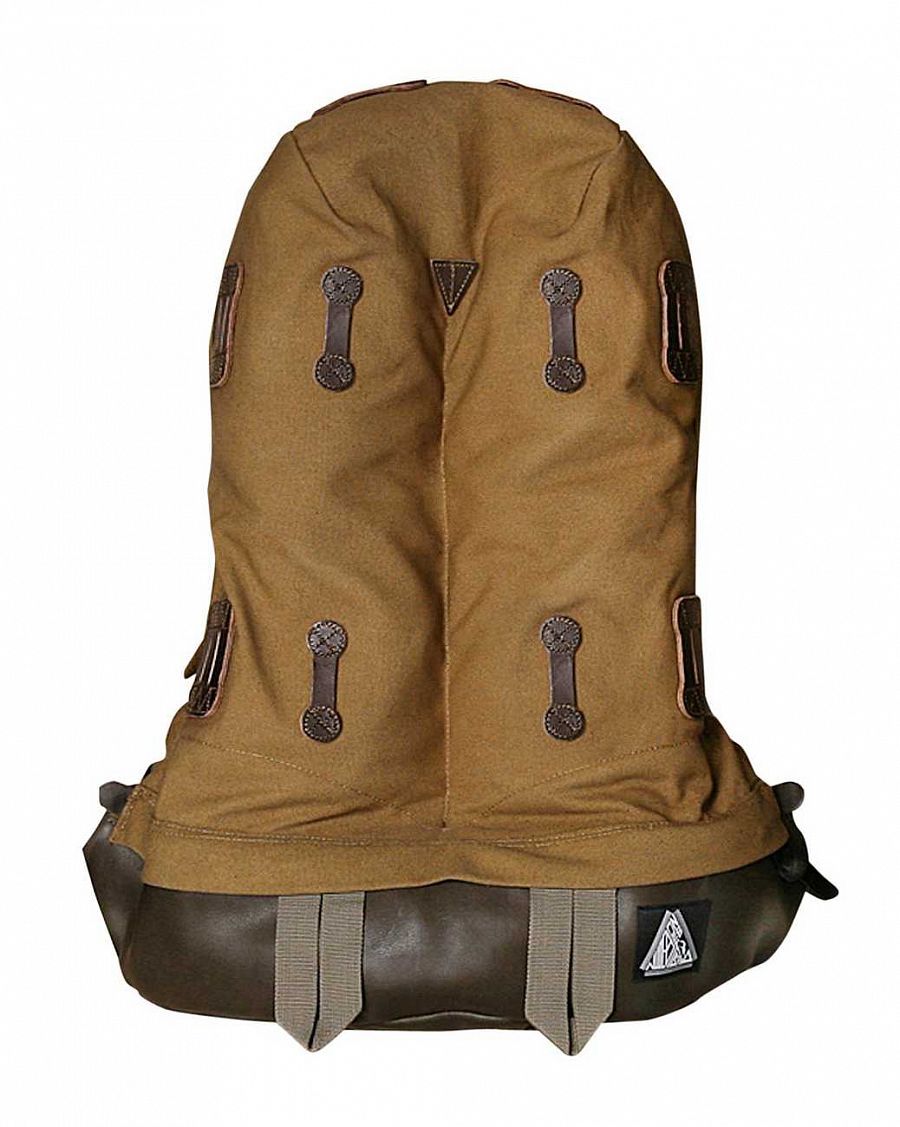 купить Рюкзак NudeBones Daybag Large 30oz Canvas Leather Brown в Москве