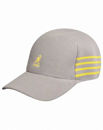 Бейсболка Kangol Golf Panel Stripe Spacecap Canvas
