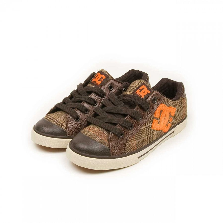 Кеды DC Shoes Chelsea W'S Dark Chocolate Pumpkin отзывы